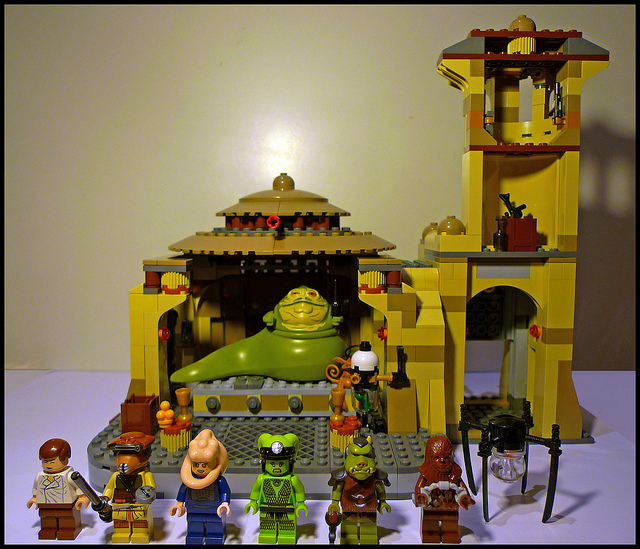 Boris Bricks Lego Star Wars 9516 Jabbas Palace Review