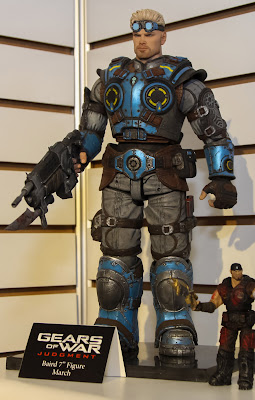 NECA 2013 Toy Fair Display Pictures - Gear of War figures
