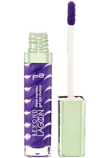 p2 Limited Edition: Beyond Lagoon - sheen supreme gel eye shadow - www.annitschkasblog.de