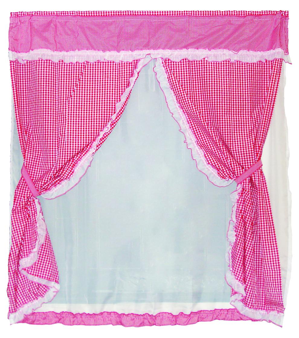 Rva dise os cortinas y set de ba o cortina de cocina triple - Cortinas de bano diseno ...