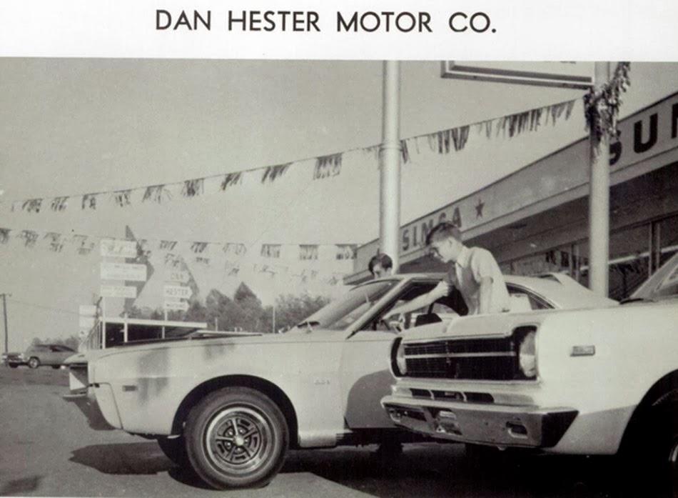 Annualmobiles Dan Hester Motor Co