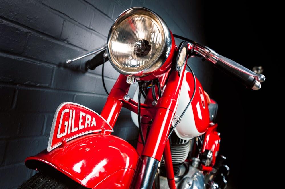 175 Gilera Extra Rosso 1959