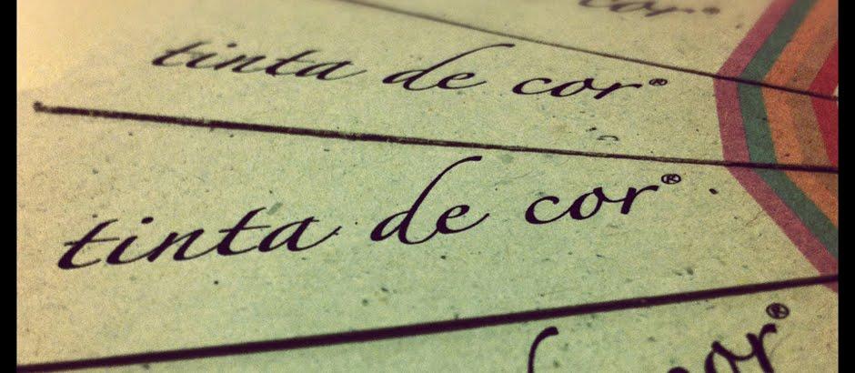 tinta de cor