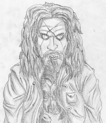 Desenho Rob Zombie