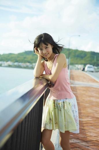Ruriko Kojima Japanese Sexy Idol Beautiful Dress Near The