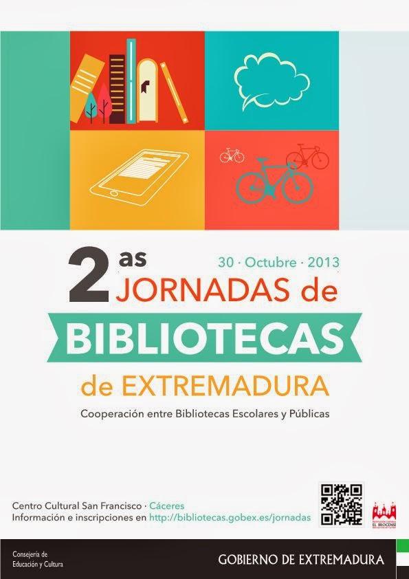 2ªs Jornadas de Bibliotecas de Extremadura