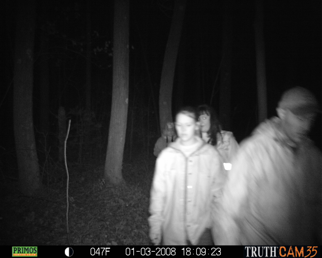 Bigfoot Caught On Trail Cam