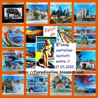 8° Swap Cartoline by Fiore (scadena iscrizione 27 maggio 2020)