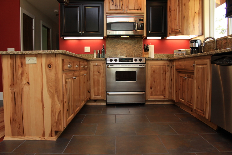 kitchen design ideas with no wall cabinets