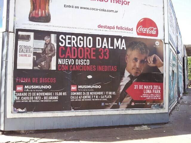 Sergio Dalma 31 de Mayo de 2014