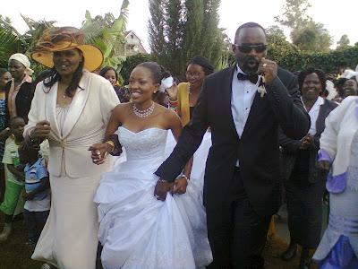 Kambua's wedding photos