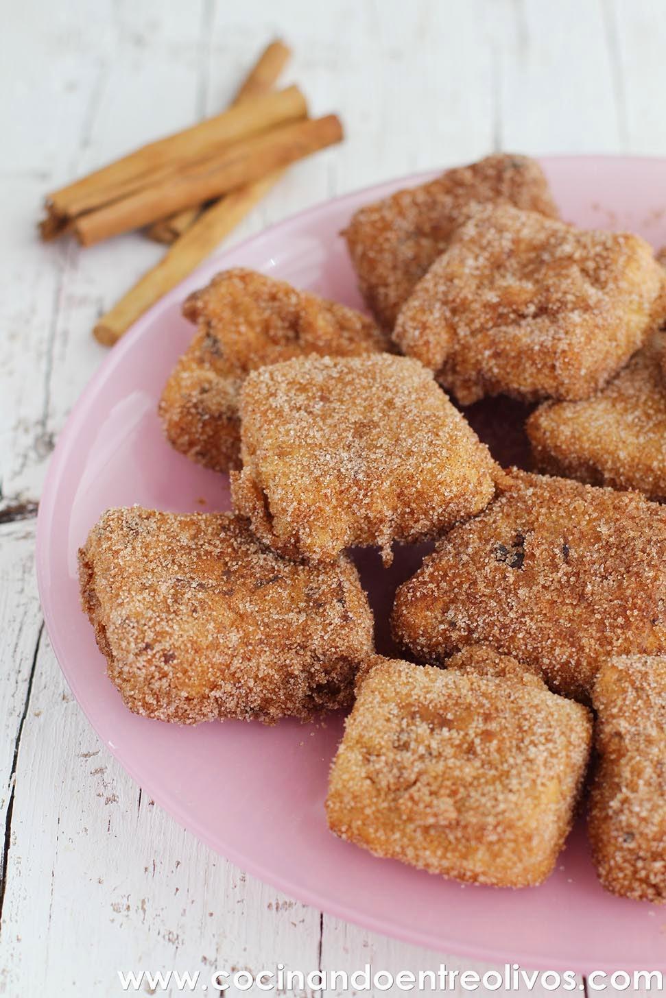 Cocinando entre olivos leche frita con maizena receta for Cocinando entre olivos