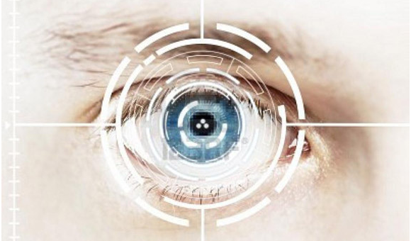 tablet with a retinal scanner