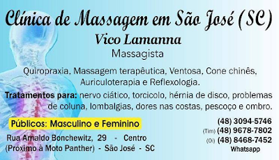 Coluna Vertebral: exercícios terapêuticos que ajudam e curam dores na coluna - Clínica de Massagem Terapêutica (Massoterapia) e Quiropraxia em São José SC (48) 3094-5746