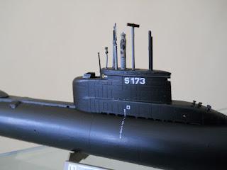 maqueta revell del submarino alemán clase 206-A