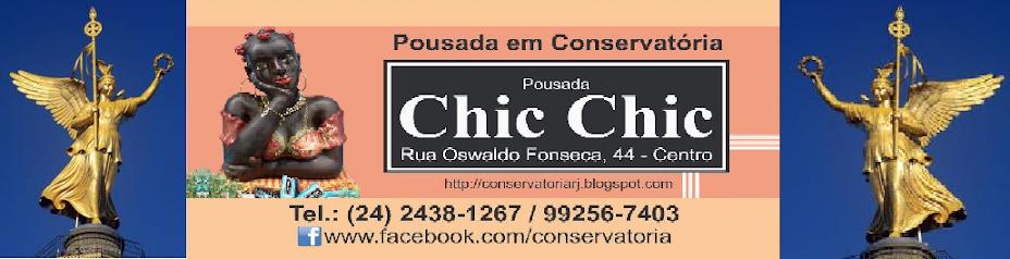 Conservatória Pousada Chic Chic - a 10 metros das serestas e serenatas de Conservatória