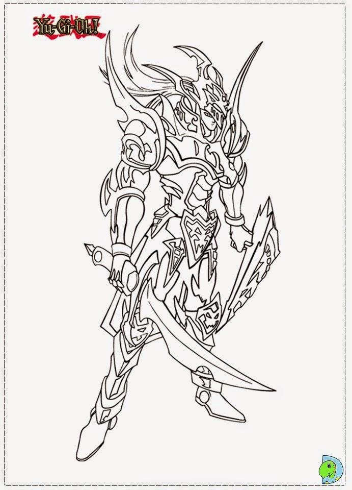 Dinokids - Desenhos para colorir: Desenhos de Yu Gi Oh ...