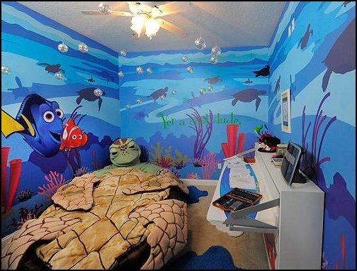 Decorating Theme Bedrooms Maries Manor Finding Nemo