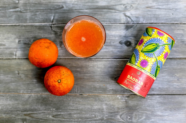 Limitless Baobab Boost Drink aduna oranges