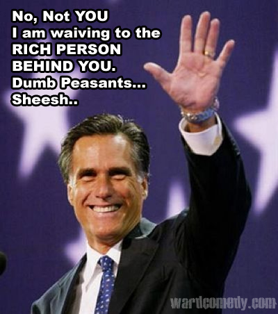 The lair Mitt romney
