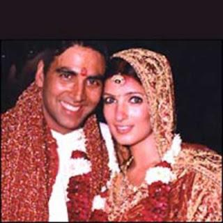 Akshay Kumar and Twinkle Khanna Wedding Photos