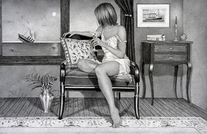 D.W.C. Women and flowers - Painters Kay Ruane