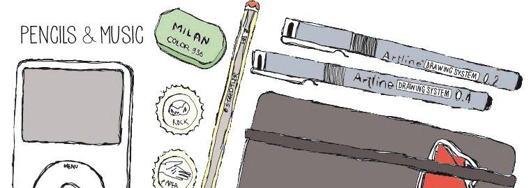 pencils & music