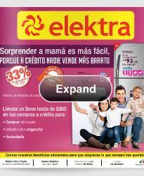 catalogo elektra dia de mama 2013