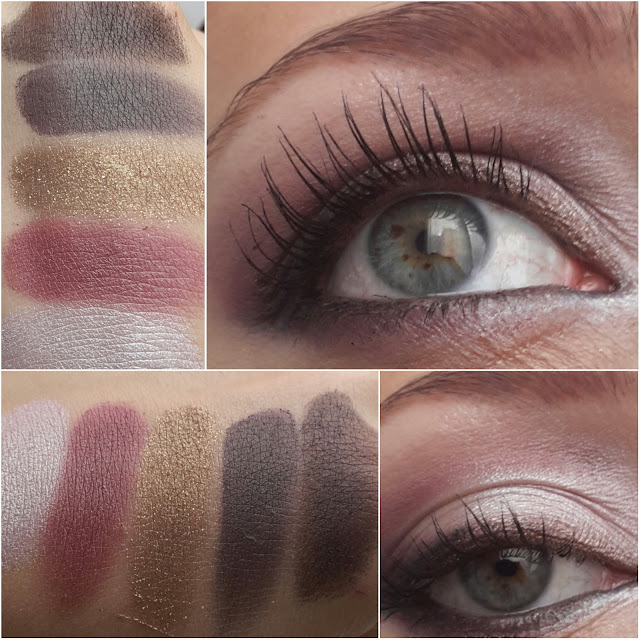 Yves Saint Laurent, ysl, palette couture metal clash swatch, Pretty Metal YSL swatch