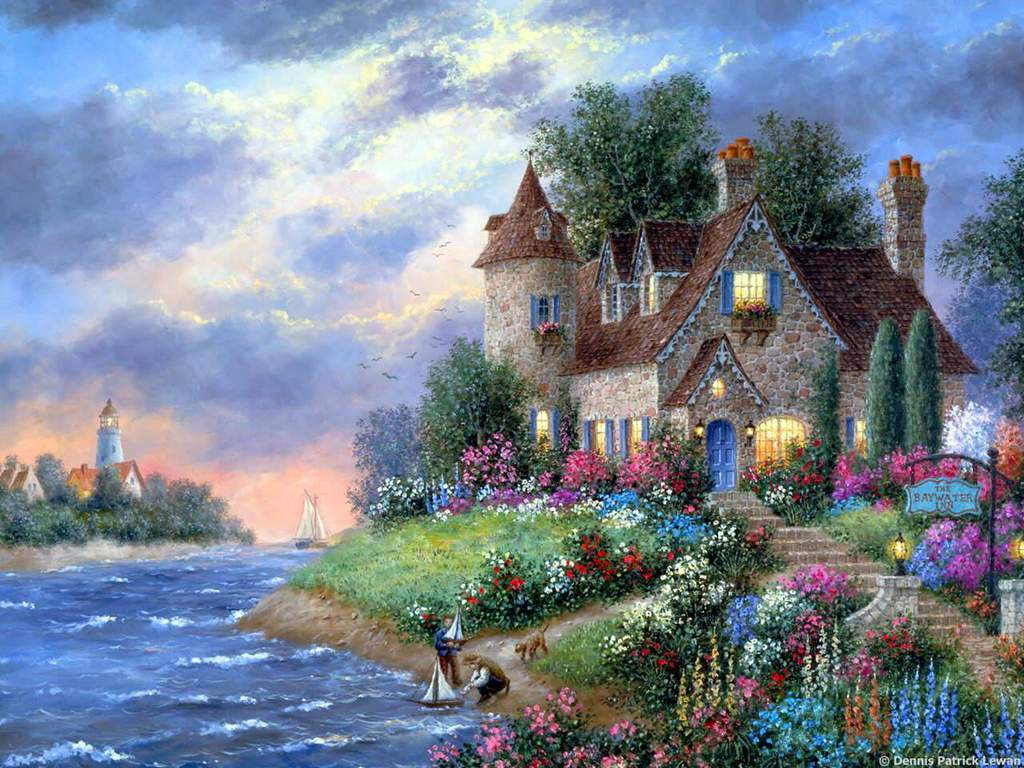 The animated dream house 0001 wallpapers pictures hd for Dream house 3d