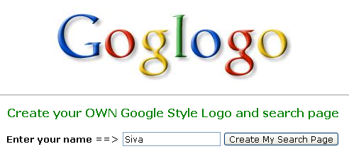Computer tricks tips create your own google style logo for Draw my own logo