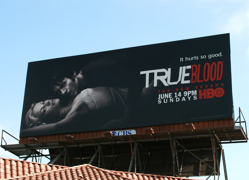 True Blood Hurts so good season 2 billboard