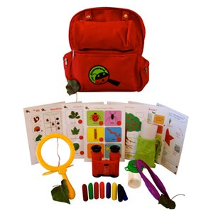 Brilliant Woodland Adventure Backpacks at Tiny Discoverers