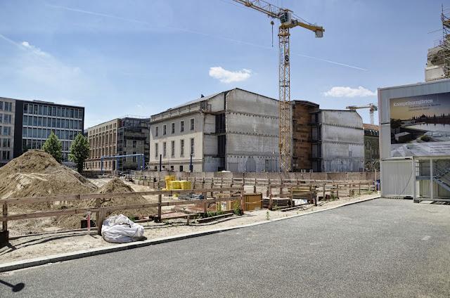 Baustelle Kronprinzengärten, Werderscher Markt, 10117 Berlin, 17.06.2013