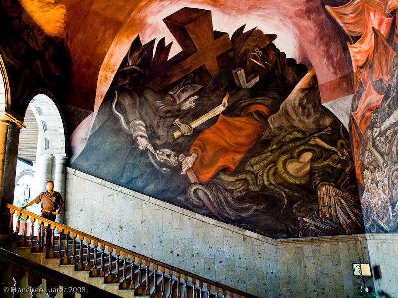 Er mundo de manu jose clemente orozco obras murales for El mural guadalajara jalisco