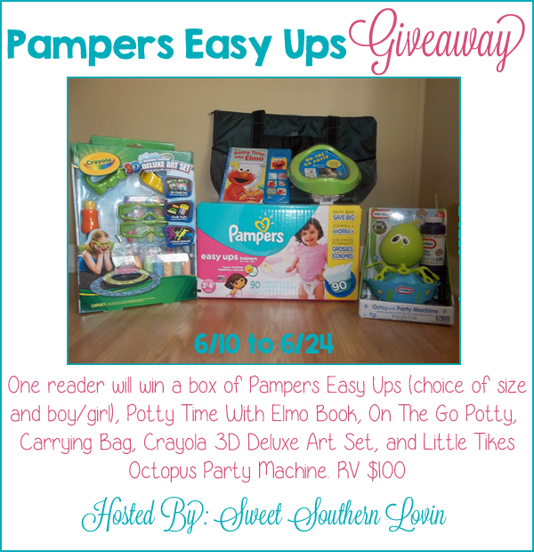 Pampers Summer Fun Prize Pack Giveaway