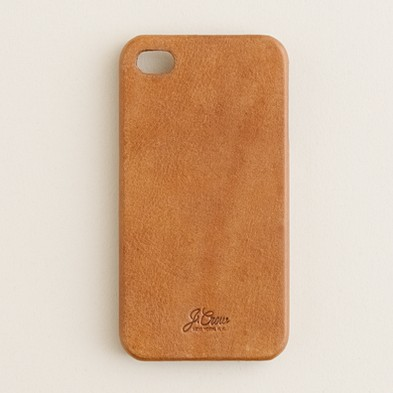 J.Crew: Leather case for iPhone® 5/5S