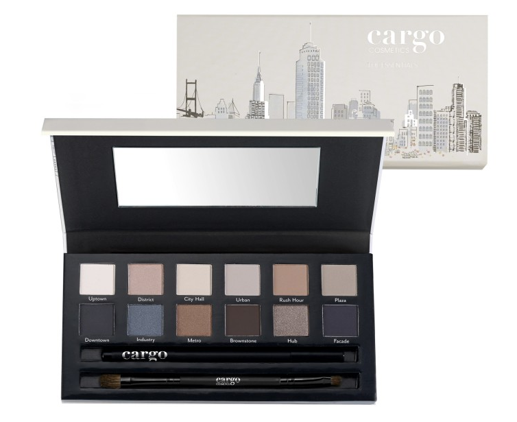 NEW from Cargo Cosmetics: The Essentials Eye Shadow Palette