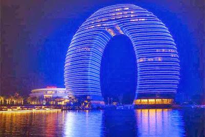 11 Hotel Aneh dan Menakjubkan di Cina