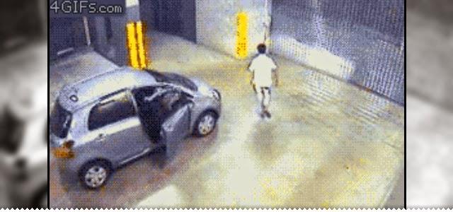 Hipernovas: 24 Maneiras totalmente estúpidas de se vingar do seu carro (24 Gifs)