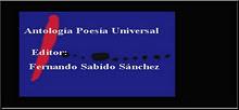 Antología Poesía Universal