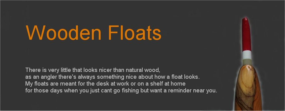 Wooden Floats