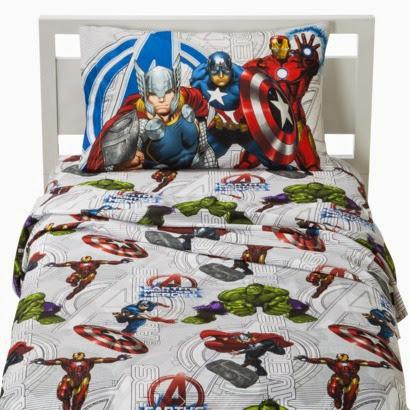 Avengers bedding chic