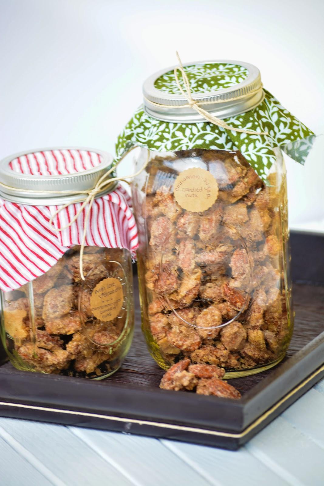 bella: Cinnamon Sugar Candied Nuts
