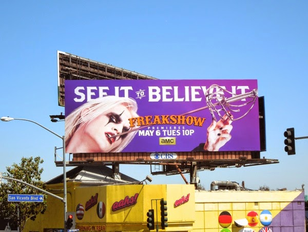 Freakshow season 2 billboard