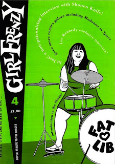 GirlFrenzy number 4 cover - fat lib, The Shaggs