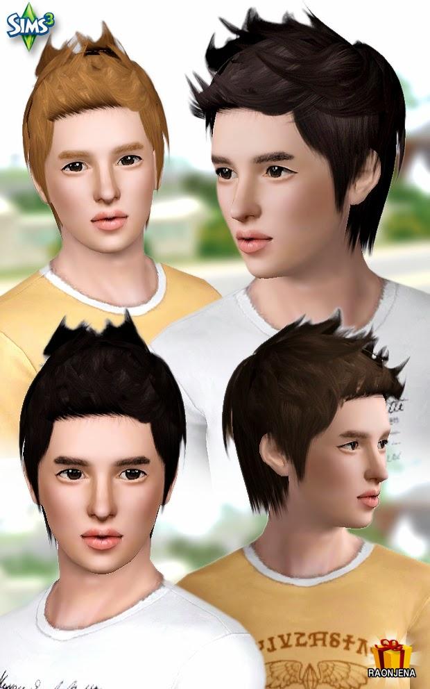 Мужские причёски для the sims3pack