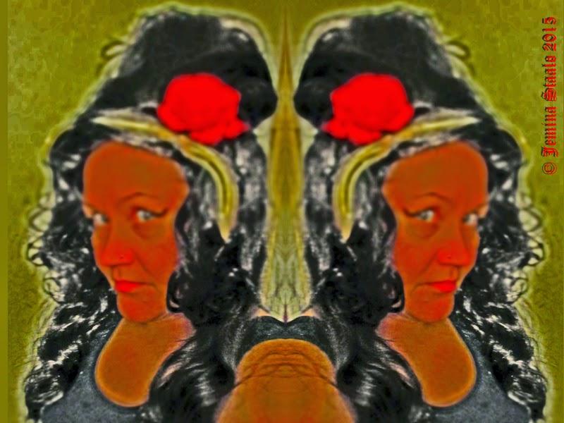 Ja aloitin sarjan  what´s my colour  Osasta peilikuvia tuli afrikkalaisia  70-luvun keraamisia reliefejä 9880f1a1a1