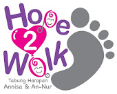 Sumbangan untuk dana Hope2walk