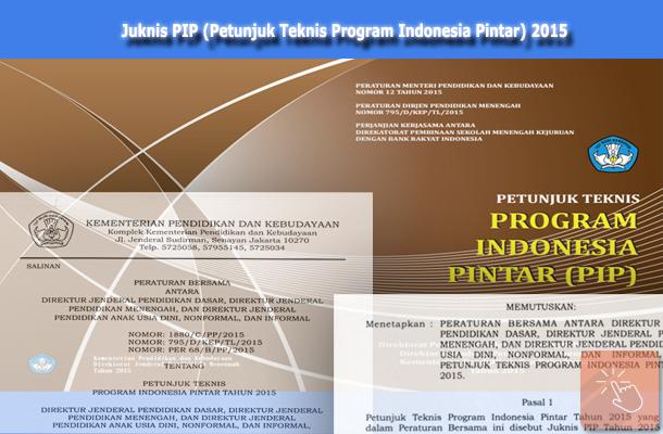 Juknis PIP (Petunjuk Teknis Program Indonesia Pintar) 2015